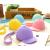 夢寧閣韓国可愛いアニメキャンディー色の野球帽の硬貨バッグミニ帽子の鍵バッグシリカゲルレディさんの手にバッグを持つjyピンク