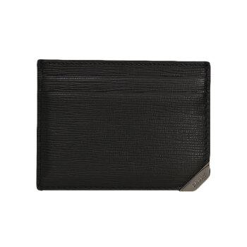 Ballyバリー/mentsのな木皮模様カードホール6221794 C-EMブラック