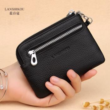 銭入レディックは、韩国版の金銭夹miniの0銭の袋の黒を包んでいます。