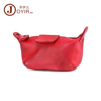 【今日は必ずバッグを合わせます。】なめし革レトロを植えて、お金を入れて韓国版オーシャに入れます。可愛い小財布多機能収納バッグK 052赤色