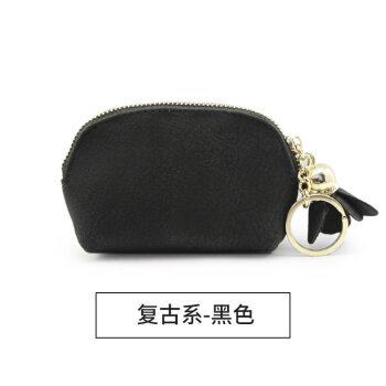 新作女性のお金入レディオス韩国版ミニかわいい小新鲜コイン袋カードケシリーズ-ストロ系-ブラック