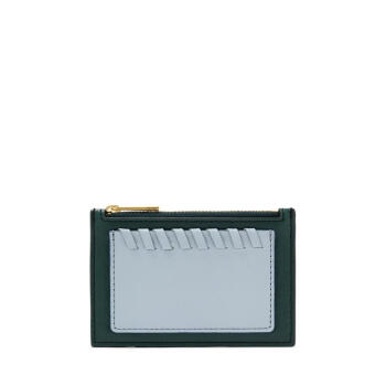 Fossil化石レディサイズ小銭入入れコイン袋収納バッグ横型フュージョンShelby皮質綴りカジュアルSL 7768 P Team one size