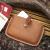 遊びなさい生活の美学!walking・enjoying手作業で本革を縫製してカードケを掛けます。収纳原色のイタリア植タンニン革