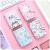 カードケ・スミレ・ディオ式かわの新作オシャレ小新鲜シンプカードドバック星ユニコン