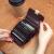 佰威奇ブランド2020新作欧米本革カードドッケ·スミレ·スシンプ·オルガン大容量カード挟んで本革カードドッケ―ス小銭入れ紫色
