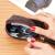 コム一Cnoles銭入レディティーニ学生の韓国版銭袋印紙多機能カードケ·スフィア·ファフナー短財布手包K 130 B付ワインレッド