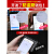 羊皮磁気防止スティング防止カードケスキースタイルの个性的なミニの小型大容量メンズ本革カードパッケージの证明书が黒一色に包まれています。