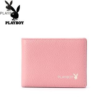 PLAYBOY运転免许证革套レイディ、スベン革カードドッケの证明书一体ピンクかわいい自动车运転免许证本ピンク0391